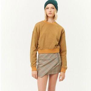NWT Striped French Terry Sweatshirt